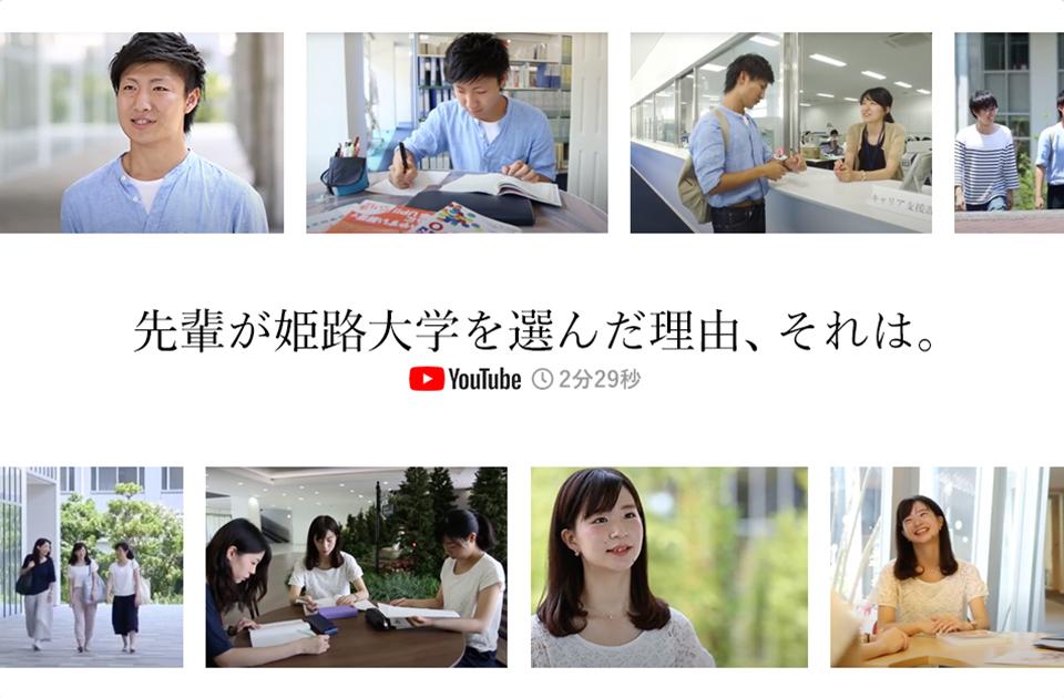 先輩が姫路大学を選んだ理由、それは。